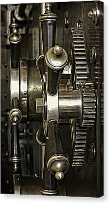 Closing The Vault Door Canvas Print by Image Takers Photography LLC - Carol Haddon