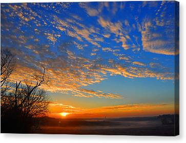 Cloud Art Canvas Print