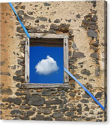 Cloud Canvas Print by Bernard Jaubert