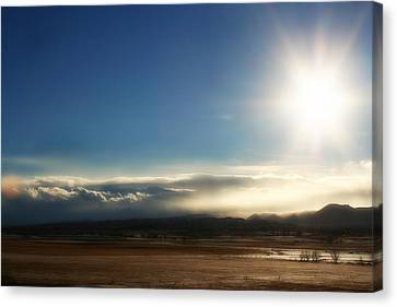 Cloud Cascades Canvas Print