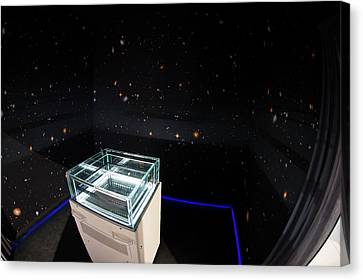 Cloud Chamber Educational Display Canvas Print by European Space Agency/p. Sebirot, 2015
