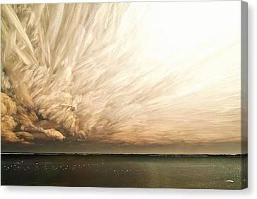 Cloud Chaos Canvas Print