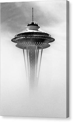 Cloud City 1962 Canvas Print by Benjamin Yeager
