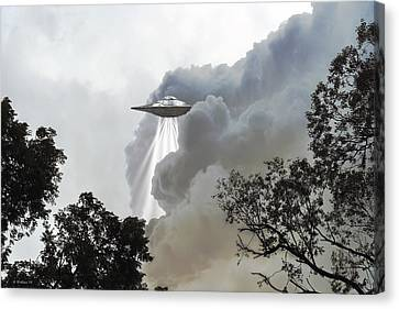 Cloud Cover Canvas Print by Brian Wallace
