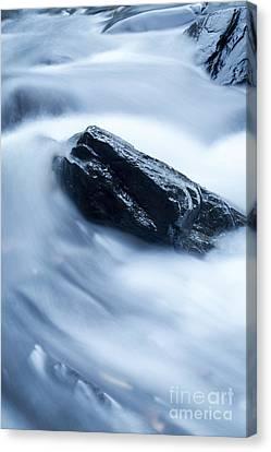 Cloud Falls Canvas Print by Edward Fielding