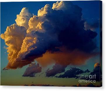 Cloud Family Canvas Print