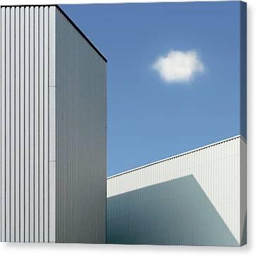 Sky Line Canvas Print - Cloud by Henk Van Maastricht