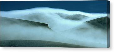 Cloud Mountain Canvas Print by Ed  Riche