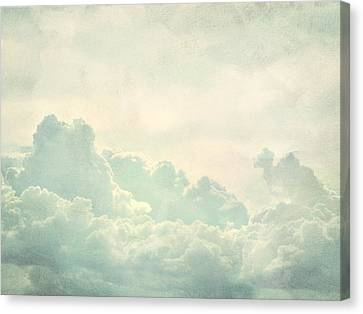 Cloud Series 5 Of 6 Canvas Print by Brett Pfister