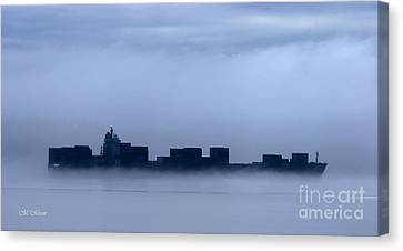 Cloud Ship Canvas Print by Tap On Photo