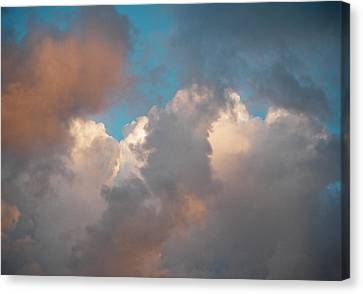 Canvas Print featuring the photograph Cloud Study 3 by Laurie Stewart