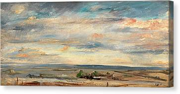 Cloud Study, Early Morning, Looking East From Hampstead Canvas Print