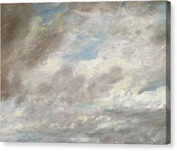 Cloud Study Canvas Print by John Constable