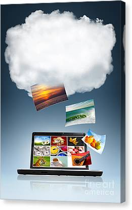 Cloud Technology Canvas Print by Carlos Caetano