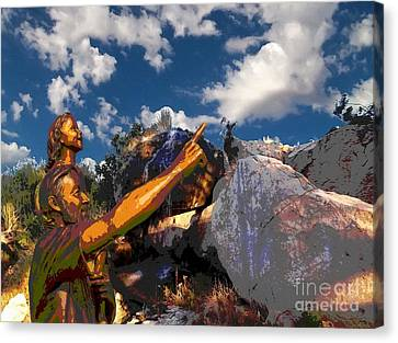 Cloud Watchers Canvas Print by Glenn McCarthy Art and Photography