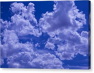 Cloud Watching Canvas Print by Garry Gay