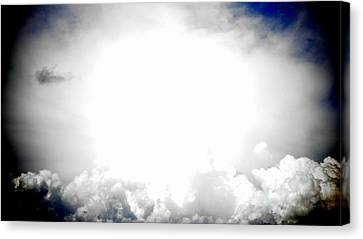 Cloudburst Sky Celestial Cloud Art Xl Resolution Canvas Print