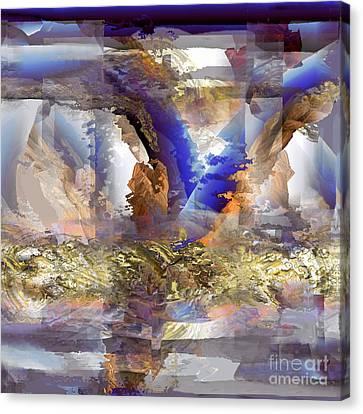 Cloudburst Canvas Print by Ursula Freer
