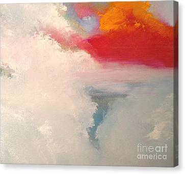 Clouds 9 Canvas Print by Jane Ubell-Meyer
