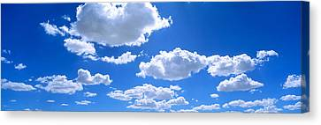 Clouds Abv Navajo Reservation Canvas Print