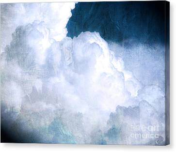 Clouds And Ice Canvas Print