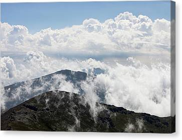 Clouds And Mist Canvas Print by Ashley Cooper