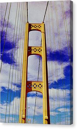 Canvas Print featuring the photograph Clouds by Daniel Thompson