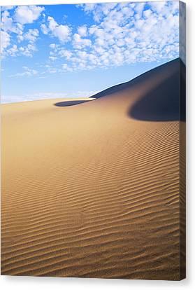Clouds Drift Over The Umpqua Dunes Canvas Print by Robert L. Potts