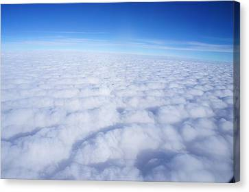 Canvas Print featuring the photograph Clouds II by Kristine Bogdanovich
