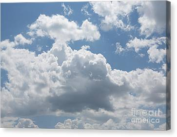 Clouds Canvas Print by Kay Pickens