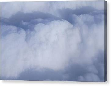 Canvas Print featuring the photograph Clouds by Kristine Bogdanovich