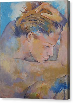 Clouds Canvas Print by Michael Creese