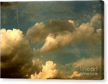 Clouds Of Yesterday Canvas Print by Anita Lewis