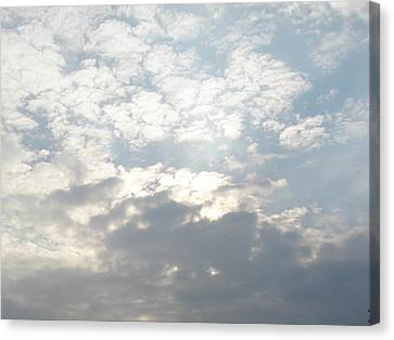 Clouds One Canvas Print