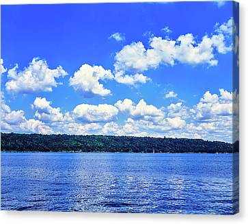 Clouds Over Cayuga Lake, Finger Lakes Canvas Print