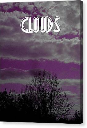Clouds Over Earth Canvas Print by Pepita Selles