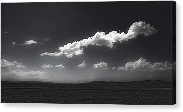 Clouds Over Fallon Nevada Canvas Print by Gregory Dyer