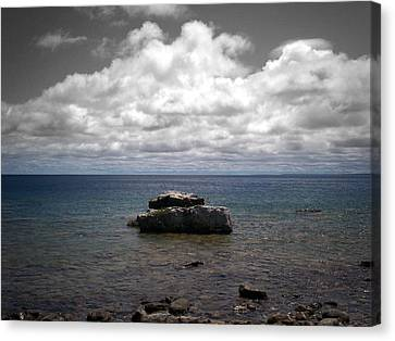 Clouds Over Georgian Bay - F2g Canvas Print