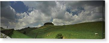 Clouds Over Kirkcarrion Copse Canvas Print by Panoramic Images