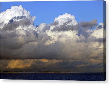 Clouds Over Portsmouth Canvas Print