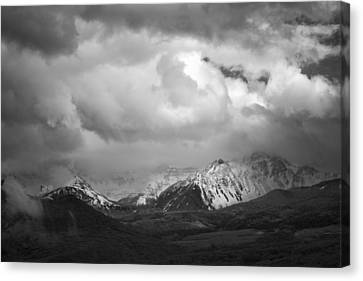 Clouds Over The Top Canvas Print