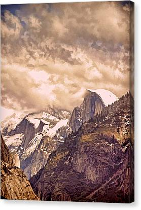 Clouds Over The Valley Canvas Print by Bill Gallagher