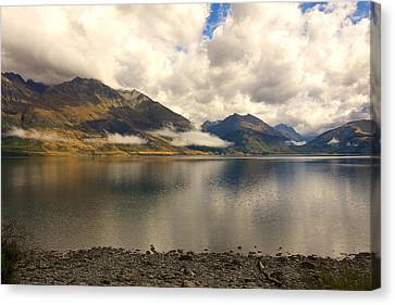 Clouds Over Wakatipu #1 Canvas Print by Stuart Litoff