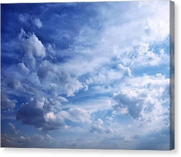 Cloudscape 5 Canvas Print by Tom Druin