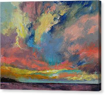Cloudscape Canvas Print by Michael Creese