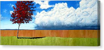 Sofa Size Canvas Print - Cloudy Day by Michael Dillon