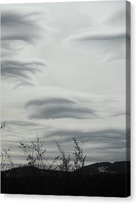 Cloudy Day Canvas Print by Yvette Pichette