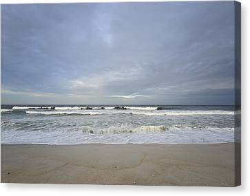 Cloudy Skies Canvas Print by Terry DeLuco