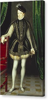 Clouet, Fran�ois 1505-1573. King Canvas Print by Everett