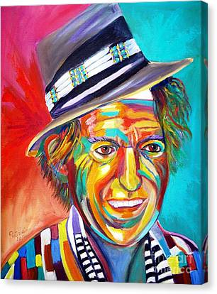 Clowning Canvas Print by To-Tam Gerwe